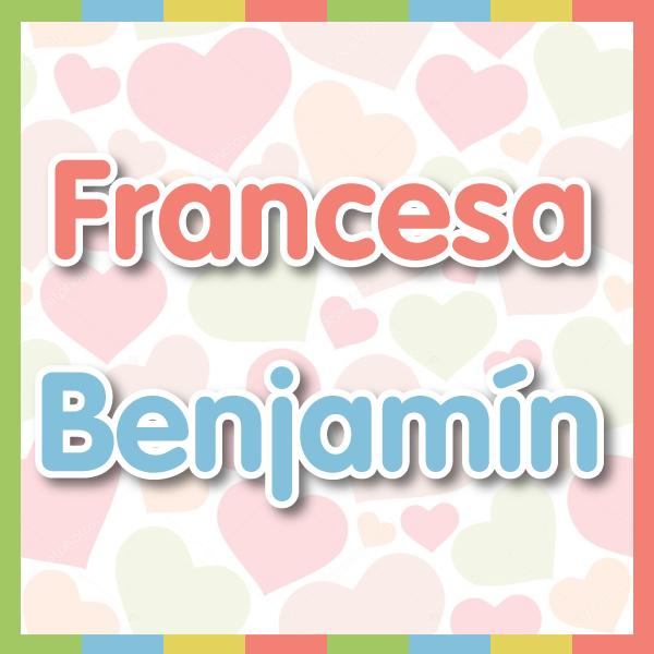 nombres-fran-benja