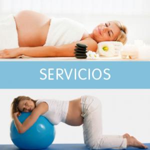 Servicios para la embarazada