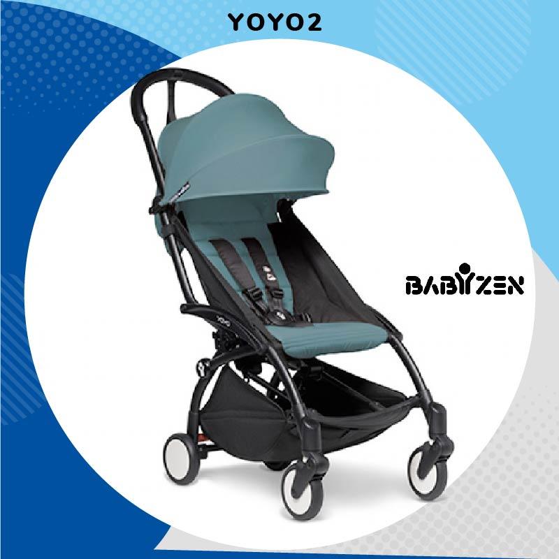 BABYZEN COCHECITO YOYO2 (ESTRUCTURA NEGRA + COLOR PACK)